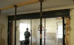 Mauerdurchbruch - Einbau Stahlträger