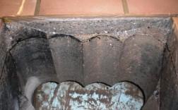 Kernbohrungen Seitenansicht für eine rechteckige Deckenöffnung